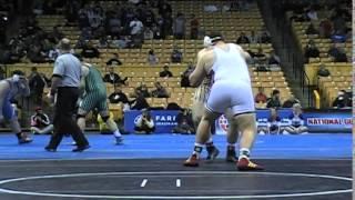 2015 Missouri State Wrestling Highlights - Braun (warrensburg) Vs. Elledge (neosho) 285 Lbs. Part I