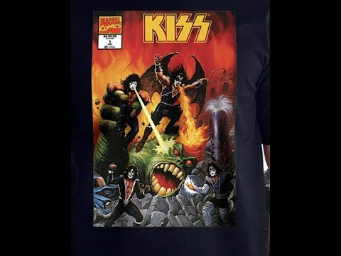 KISS and Marvel team up for shirts, home products, posters, accessories, and more!