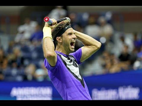 Roger Federer Vs Grigor Dimitrov | US Open 2019 Quarter-Finals Highlights