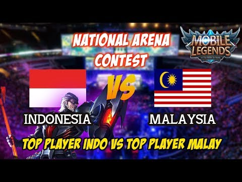 Kolaborasi Top Player Indonesia Barsatu Lawan Top Player Malaysia di National Arena Contets