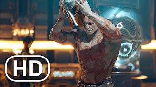 How Drax Killed Thanos Scene - Marvel's Guardians Of The Galaxy