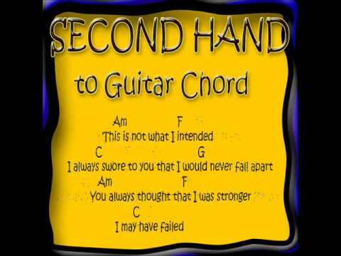 Second Hand Fall for you Lyrick and Chord