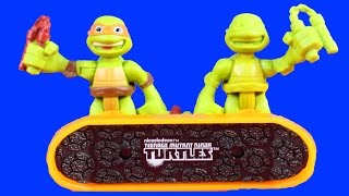 Shredder And Krang Make Prototype Teenage Mutant Ninja Turtles TMNT Mikey To Take Pizza Launcher