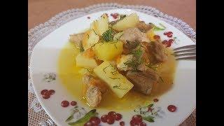 Жаркое по-домашнему со свининой и картошкой. Как приготовить жаркое