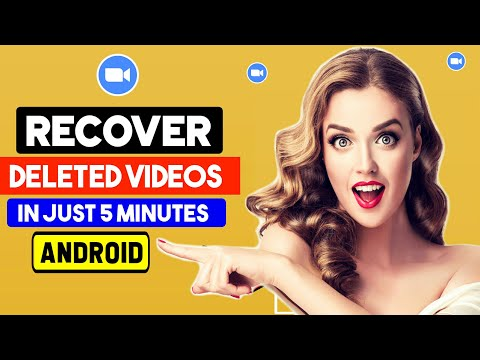 Recover Deleted Videos On Android Phone (without Root) 2020