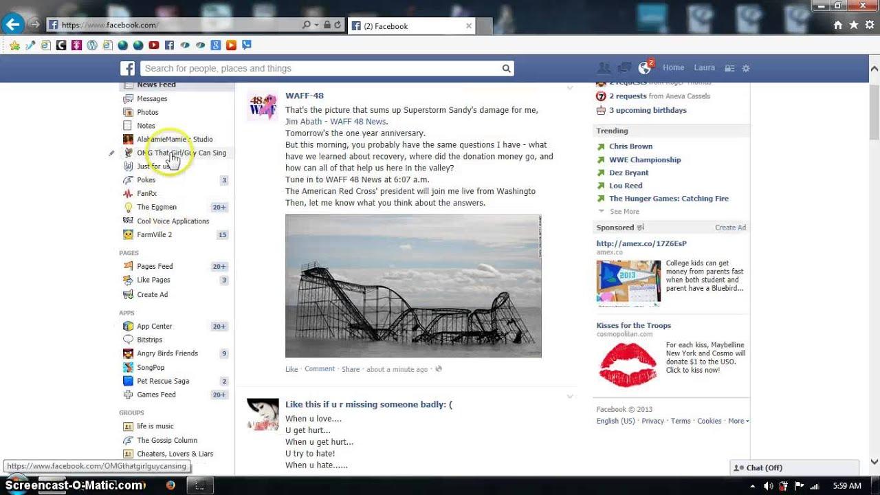 Pokes in fb