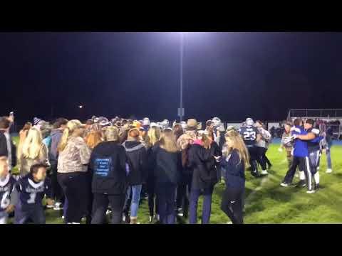 Watch Hemlock students storm field after 30-6 win over Ithaca