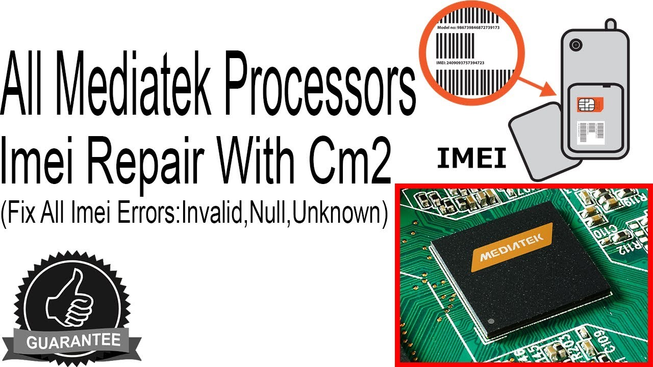 How to Repair Imei All MTK Mobiles with Cm2