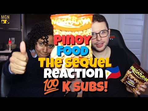 Pinoy Food: The Sequel Reaction (100K Subs)