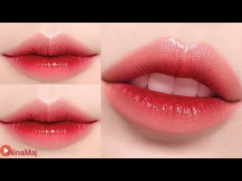 Korean Gradient Lips ♥ How To Gradient Lips