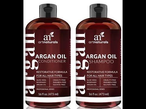 Art Naturals Organic Moroccan Argan Oil Shampoo and Conditioner    Review    Amazon