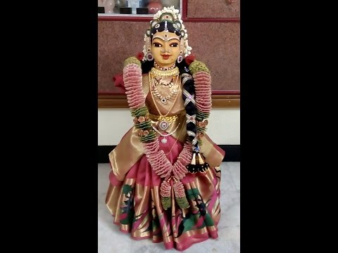 Varalakshmi vratham Gowramma Decoration