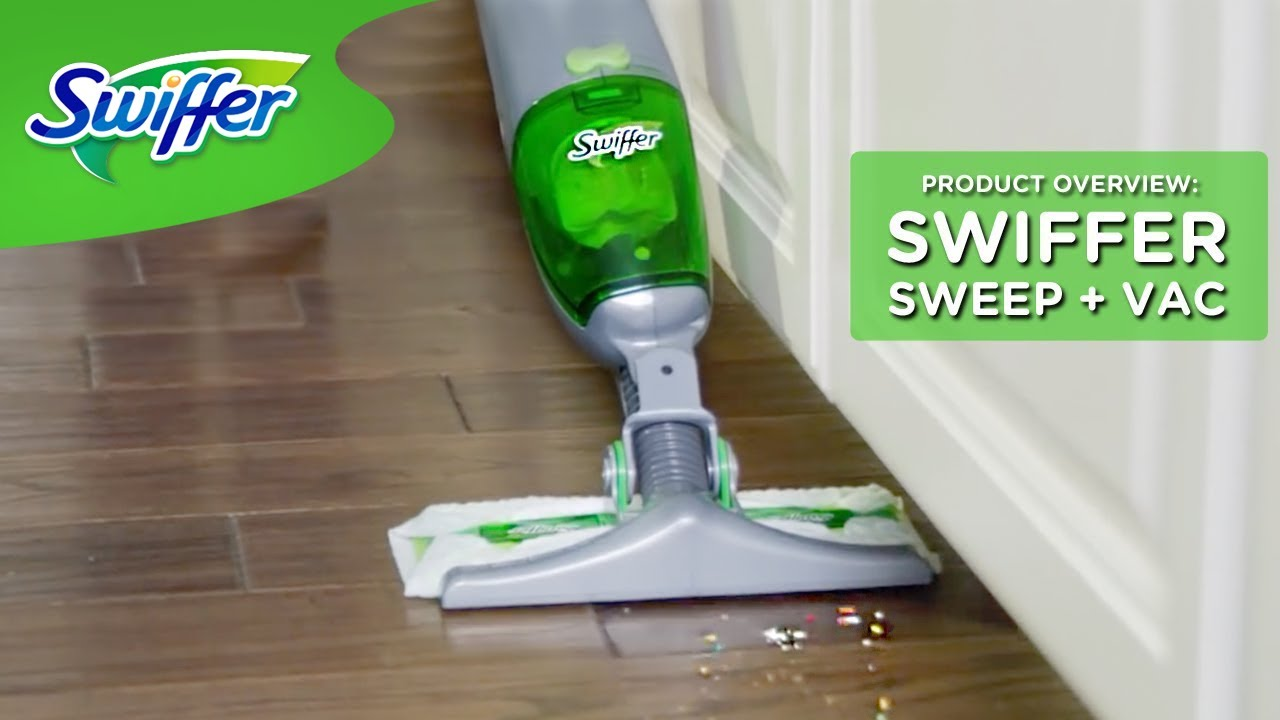 Swiffer Sweep Vac Lightweight Cordless Vacuum Cleaner For Hard Floors