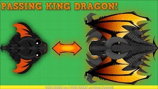 MOPE.IO PASSING KING DRAGON!? HYBRID DRAGON AFTER KING DRAGON? Mope.io Hack/Glitch [Mopeio]