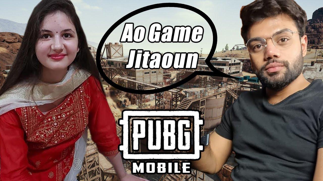 I Found A Little Girl Fan In PUBG Mobile !!!