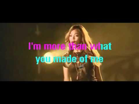 Beyonce Listen karaoke.wmv