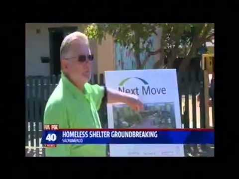 KTXL Fox40, Sacramento, 9 22 14, Next Move Shelter