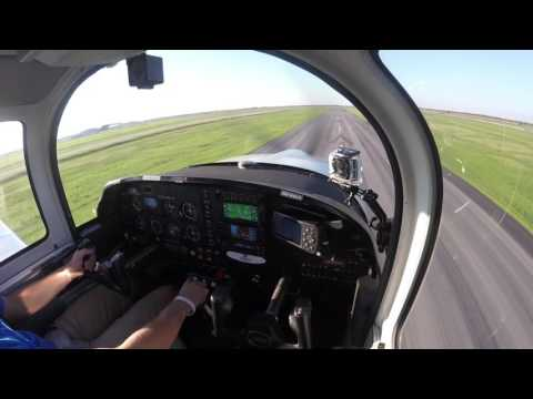 GoPro HD With ATC | Grumman AA5 Touch & Go | KTME