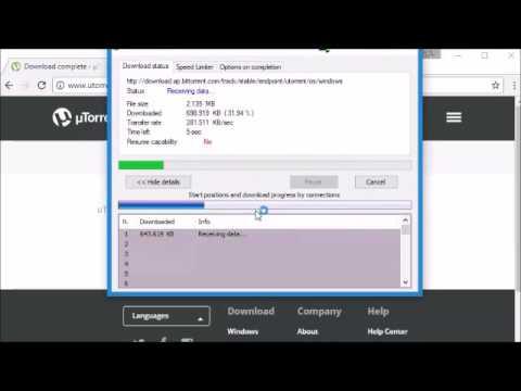تحميل برنامج μTorrent
