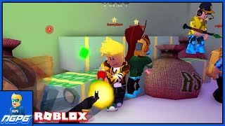 WE HAD A GUNFIGHT IN THE BANK... | Mad City on Roblox #3 (Feat. LightningShock)