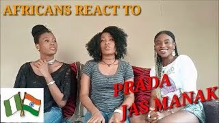 PRADA - JASS MANAK (Official Video) Satti Dhillon| Reaction Video by the Miller sisters