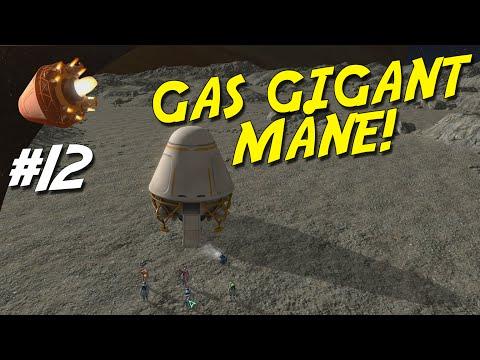 PLANETBASE Dansk Ep 12 - GAS GIGANT MÅNE!