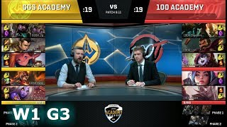 Video Golden Guardians Academy vs 100 Thieves Academy | Week 1 NA Academy League Summer 2018 | GGS vs 100 download MP3, 3GP, MP4, WEBM, AVI, FLV Juni 2018
