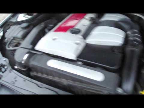 mercedes w203 / c203 2.0 kompressor 163km, hałas silnika
