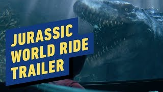 Jurassic World: The Ride Trailer (Universal Studios)