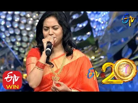 Sunitha Performs - Venumadhava Songin ETV @ 20 Years Celebrations - 2nd August 2015