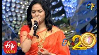 Sunitha Performs - Venumadhava Song  in ETV @ 2...