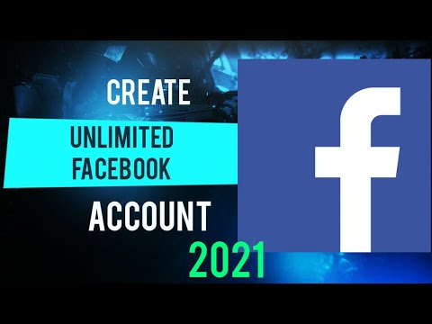 Unlimited Facebook Account Without Phone Verification | No Phone Number | Email Method 2021
