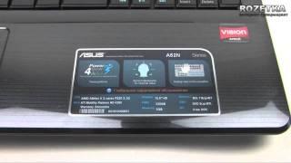 видео Ноутбук Asus K50C: характеристики