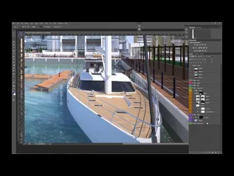01| WATER - architectural 3D visualisation tutorial by Vyonyx for Gobotree