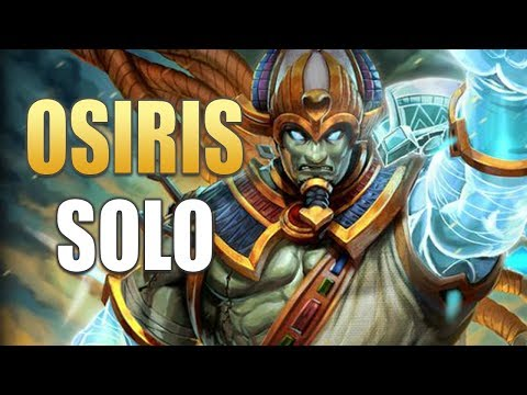 SMITE: Osiris Solo Gameplay | Hunter's Blessing Is STRONG! (Season 5 PTS)