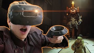 BEST VIRTUAL REALITY RPG GAME EVER MADE?! | Chronos VR (HTC Vive Gameplay)
