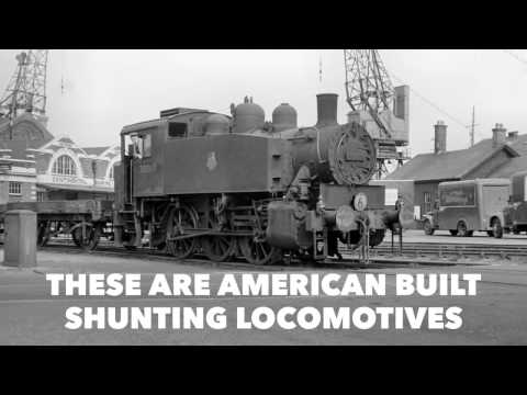 The SR USA class were ex-United States Army Transportation Corps S100 Class steam locomotives
