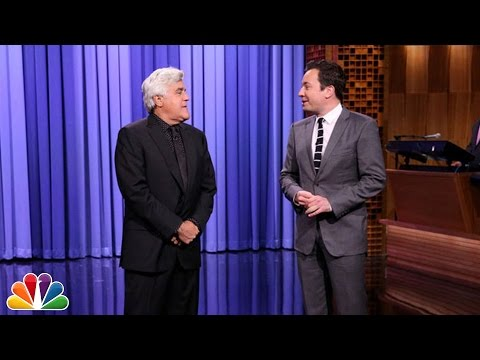 Jay Leno Tags in to Tell a Few Monologue Jokes