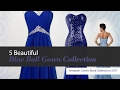 5 Beautiful Blue Ball Gown Collection Amazon Gown Style Collection 2017