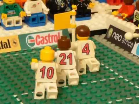 Đá bóng World Cup dưới dạng đồ chơi Lego