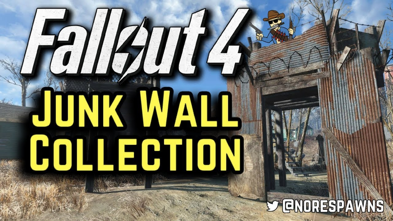 Fallout 4 Mods - Junk Wall Collection