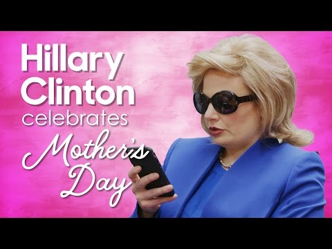 Hillary Clinton Celebrates Mother's Day