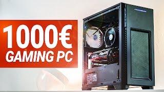 1000€ - 1100 Euro Gaming PC - 2017 - TEST & Zusammenbauen!