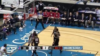 Willie Reed dominating the paint (29 pts, 13rbs) vs. Erie