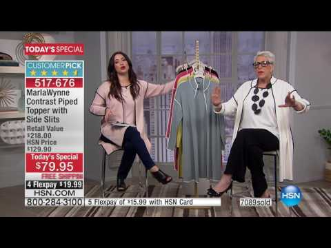 HSN | MarlaWynne Fashions / Naturalizer Footwear 02.09.2017 - 01 PM