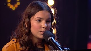 "Britain's Got Talent 2020 Sirine Jahangir Visually Impaired Singer ""Salvation"" Full Audition S14E06"