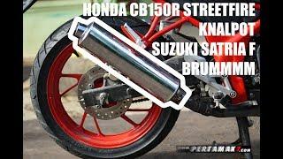 Suara Modifikasi Honda CB150R Pakai Knalpot Suzuki Satria F BY Pertamax7 Mp3
