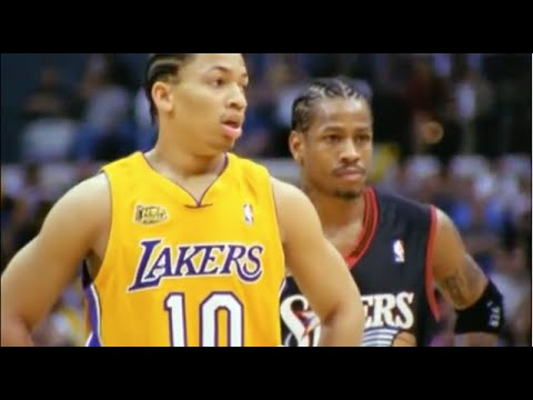 Tyronn Lue Great Defense on Allen Iverson - 2001 Finals Game 1 - YouTube afec4b976