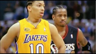 Tyronn Lue Great Defense on Allen Iverson - 2001 Finals Game 1