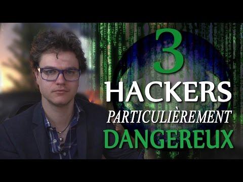 BULLE : 3 Hackers Particulièrement Dangereux